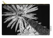 Palm Tree Black Carry-all Pouch