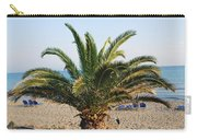 Palm Tree By The Beach Carry-all Pouch