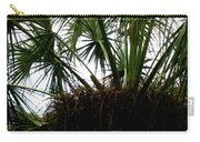 Palm Tree In Curacao Carry-all Pouch