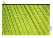 Palm Tree Leaf Abstract Carry-all Pouch