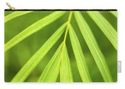 Palm Tree Leaf Carry-all Pouch by Elena Elisseeva