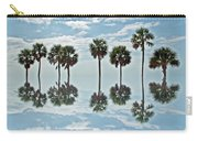 Palm Tree Reflection Carry-all Pouch