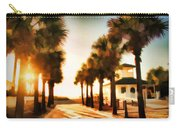Palm Tree Sunrise Carry-all Pouch