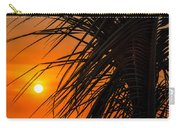 Palm Tree Sunset Carry-all Pouch