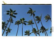 Palm Trees Against A Clear Blue Sky Carry-all Pouch