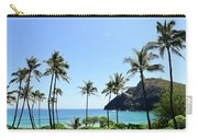 Palm Trees Along The Coast Of Waimanalo Carry-all Pouch