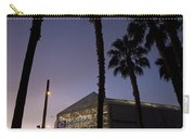 Palm Trees And Hp Pavilion San Jose At Night Carry-all Pouch