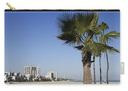 Palm Trees At Long Beach California Carry-all Pouch