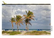 Palm Trees At The Beach Carry-all Pouch