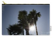 Palm Trees In Backlit Carry-all Pouch