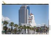 Palm Trees In Downtown Long Beach Carry-all Pouch