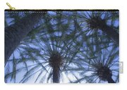 Palm Trees In The Sun Carry-all Pouch