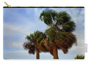 Palm Trees In The Wind Carry-all Pouch