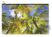 Palm Trees Of Aruba Carry-all Pouch