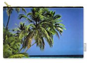 Palm Trees On Little Palm Island Filtered Carry-all Pouch