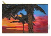 Palme Al Tramonto Carry-all Pouch