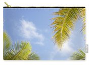 Palms And Sky Carry-all Pouch