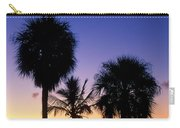 Palms At Sunrise Carry-all Pouch