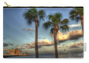 Palms At The Pier Carry-all Pouch