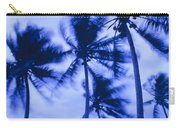 Palms In Storm Wind-bora Bora Tahiti Carry-all Pouch