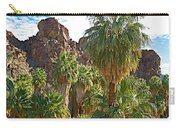 Palms Stand Tall In Andreas Canyon In Indian Canyons-ca Carry-all Pouch