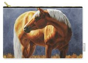 Palomino Horse - Gold Horse Meadow Carry-all Pouch