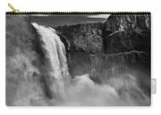 Palouse Falls Bw Carry-all Pouch