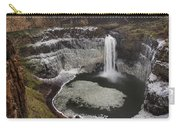 Palouse Falls In Winter Carry-all Pouch