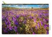 Palouse Falls Wildflowers Carry-all Pouch
