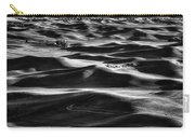 Palouse In Black And White Carry-all Pouch
