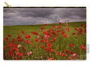 Palouse Poppies Carry-all Pouch