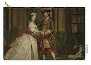 Pamela And Mr B. In The Summerhouse Carry-all Pouch