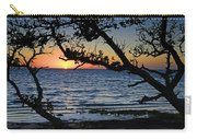 Pamlico Sound Through The Trees Carry-all Pouch