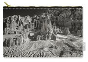 Panaca Sandstone Formations In Black And White Nevada Landscape Carry-all Pouch