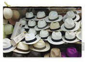 Panama Hats In Ecuador Carry-all Pouch