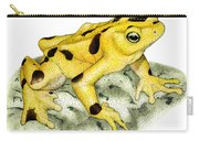 Panamanian Golden Frog Carry-all Pouch