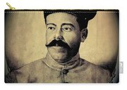 Pancho Villa In Military Uniform Drawing No  Date-2013  Carry-all Pouch