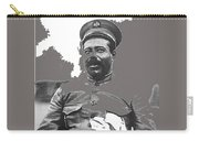 Pancho Villa  Portrait In Military Uniform No Location Or Date-2013 Carry-all Pouch