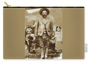 Pancho Villa  Portrait With Children No Location Or Date-2013 Carry-all Pouch