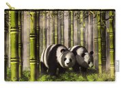 Pandas In A Bamboo Forest Carry-all Pouch