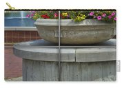 Sample Paneled Concrete Flower Pot Carry-all Pouch