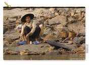 Panning For Gold Mekong River 1 Carry-all Pouch