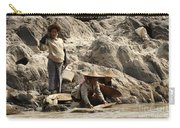 Panning For Gold Mekong River 2 Carry-all Pouch