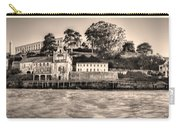 Panorama Alcatraz Shaky Sepia Carry-all Pouch
