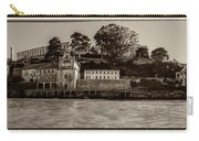 Panorama Alcatraz Torn Edges Carry-all Pouch