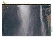 Panorama Angel Falls In Canaima National Park Venezuela Carry-all Pouch