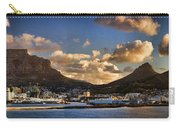 Panorama Cape Town Harbour At Sunset Carry-all Pouch