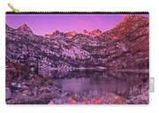 Panorama Lake Sabrina Eastern Sierras California Carry-all Pouch