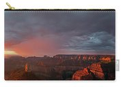 Panorama North Rim Grand Canyon National Park Arizona Carry-all Pouch