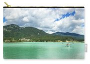 Panorama Of Green Lake, Whistler Carry-all Pouch